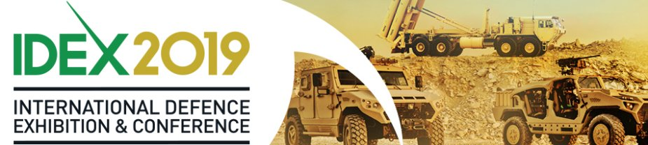 IDEX 2019 defense exhibition in the UAE